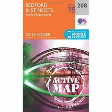 Bedford and St.Neots, Sandy and Biggleswade by Ordnance Survey (Sheet map,...