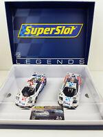 Slot Car Scalextric Superslot Legends H4012A McLaren F1 GTR 24h. Le Mans 1996