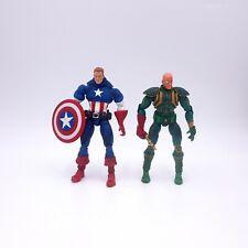 Marvel Legends Face-Off Series Unmasked Captain America, Red Skull Variant
