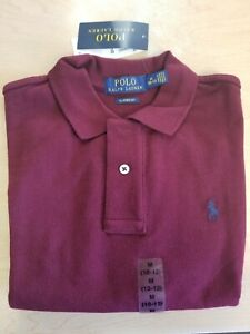 Polo Ralph Lauren Boys Classic Fit Mesh Short Sleeve Polo Shirt Medium