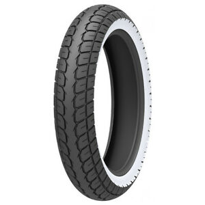 Kenda 120/70-12 58M Tubeless K418 White Wall Scooter Tyre 120/70x12