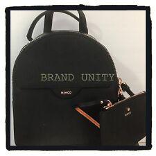 Mimco Phenomena Backpack Hand Bag BNWT BLACK ROSE GOLD RRP $349