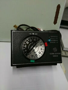 Vintage GE 8136 automatic variable home sentry timer