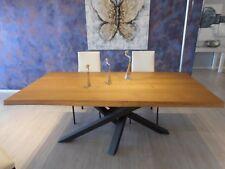 Tavolo di design modello Shanghai – Top in legno massello di CEDRO
