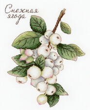 "Counted Cross Stitch Kit MP STUDIO - ""Gifts of nature. Snowberry"""