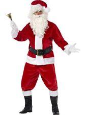Costume de Père Noël Saint Nicolas Peluche Noel Premium