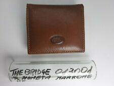 Porta moneta - Fazzoletto - Unisex - Pelle - Marrone - 013001 - The Bridge