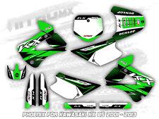 KAWASAKI KX 85 2001 - 2004 2005 2006 2007 2008 2009 2010 2011 2012 2013 Graphics