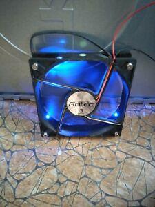 Antec 3 Speed Led Blue Cooling Fan for desktop PC