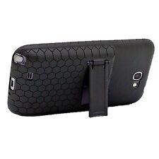 Arc™ Samsung Galaxy Note II Extended Battery HoneyComb Kickstand TPU Case Black