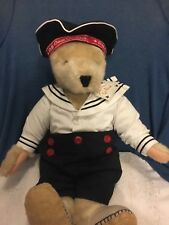 Cornelius VanderBear All Paws on Deck new w/ tags