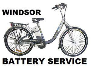 Powacycle Salisbury Milan2 Windsor Prague Puma LPX Electric Bike Battery Service