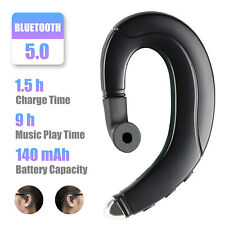 Ear Bluetooth 5.0 Bone Conduction Headphone Mic Stereo Wireless Earphone Headset