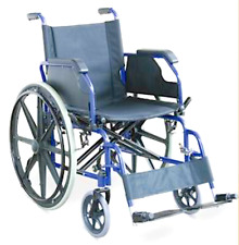 NEW Folding Wheelchair Size Adult Lift Up Armrests Fold Back Leg Rests NIB