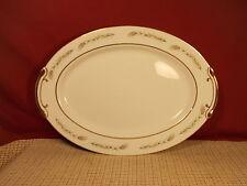 """Empress Fine China Grano 1813 Pattern Oval Plattern 14 3/8"""""""