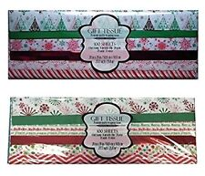Christmas Gift Tissue Paper (200 Sheets) (ChristmasTree and Snowflake Themed)