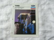 Ford New Holland 8630 8730 8830 tractor brochure