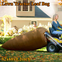 Lawn Tractor Leaf Bag Mower Riding Grass Rubbish Sweeper Collect Bagger System