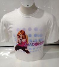 Madonna para hombre confesiones Tour de T-Shirt Blanco Grande