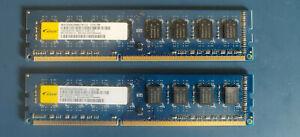 Elixir M2F4G64CB8HG5NCG (PC3-12800, DDR3 RAM, 1333 MHz, DIMM) RAM 2x2GB