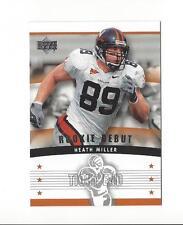 2005 Upper Deck Rookie Debut #141 Heath Miller RC Rookie Steelers