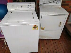 Kleen maid Washing.machine and dryer used