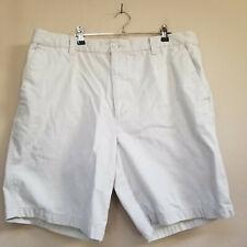 Dockers Men's Bermuda Shorts Flat Front Pockets Zip FLy Cotton Beige Size W 38