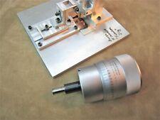 3 Scherr Tumico Micrometer Head 0 1 00001 Sense Element Tweaker Jig