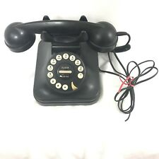 Vintage Black Grand Phone Telephone Flash Redial PF Products Landline