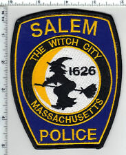 Salem Police (Massachusetts) Thin Border Shoulder Patch - new from 1992