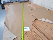 Hazel Sand Beige Cow Side Pigmented Leather 1.3mm Thick Quality Genuine EB118