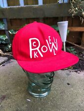 Rockwell by Parra Red Snapcak Hat Cap made in USA - RARE