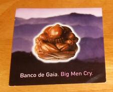 Banco de Gaia Big Men Cry Sticker Original Promo (square) 4x4