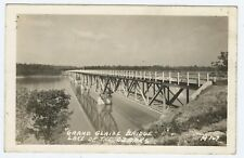 Grand Glaize Bridge Lake of the Ozarks Missouri RPPC