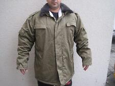 NVA Wattejacke Winterjacke m.Kragenbinde einstrich keinstrich Uniform gr.52 -66