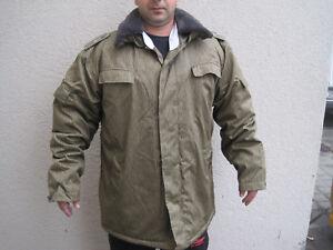 NVA Wattejacke  Winterjacke m.Kragenbinde einstrich keinstrich Uniform gr.60 DDR