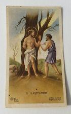 Santino Holy Card Preghiera San S. Bartolomeo Apostolo