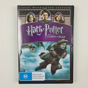 Harry Potter and the Goblet of Fire DVD - R4 - NEW & SEALED - TRACKED POST