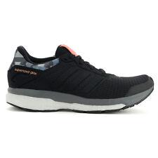 Adidas Women's Supernova Glide 8 GFX Boost Black Running Shoes AQ5058 NEW!