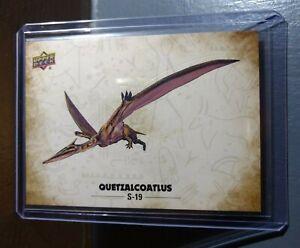 2015 Upper Deck Dinosaurs Quetzalcoatlus #S-19 Trading Sticker Card