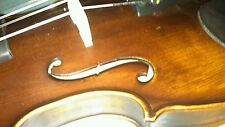 Gorgeous Old Italian Style Concert Violin  Stradivarius copy Listen to Sound!!