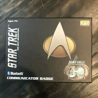 Star Trek TNG Bluetooth Communicator Badge 30th Anniversary Version New