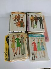LARGE MIXED LOT OF SEWING PATTERNS  VINTAGE AND CONTEMPORARY
