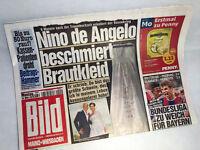 Bildzeitung vom 16.03.2015 * Nino de Angelo * zur Geburt * Firmengründung