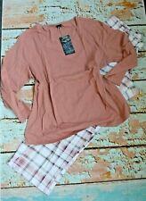 AriZona Pijama Mujer Talla 52/54 Rosa de Cuadros (867) Especial Nuevo