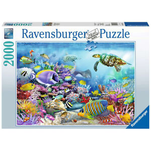 Ravensburger 2000 Piece Jigsaw Puzzle Coral Reef Majesty Sealife 98x75cm Age 12+