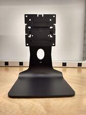 Black Desktop Vesa 75 / 100 Stand for TV / Monitor with Kensington Lock