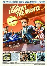 LITTLE JOHNNY THE MOVIE Movie POSTER 27x40 Vincent Cassel Olivier Barthelemy