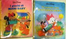 Walt Disney Baby 2 Libri Mondadori Minni Paperina Silvestrino Titti Warner