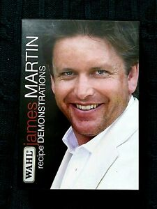 WAHL JAMES MARTIN RECIPE DEMONSTRATIONS – DVD- R-2, LIKE NEW, FREE POST